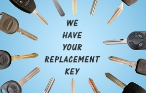 Car Keys - Cutting and Replacement